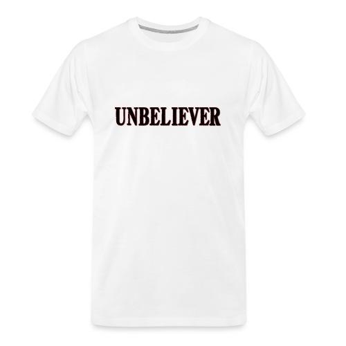 Unbeliever - Men's Premium Organic T-Shirt