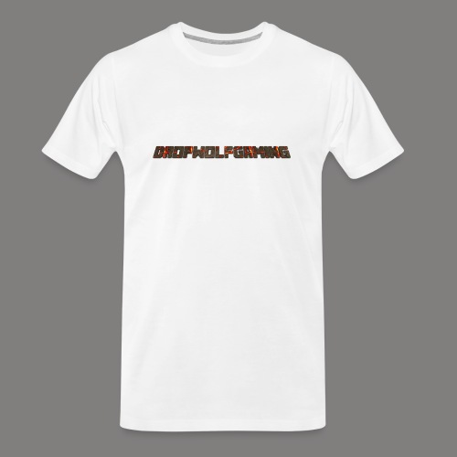 DropWolfGaming - Men's Premium Organic T-Shirt