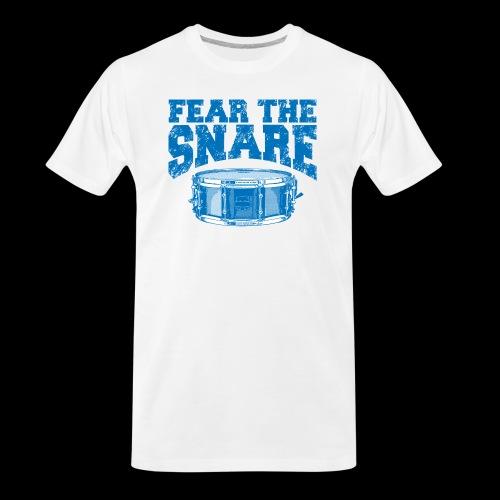 FEAR THE SNARE - Men's Premium Organic T-Shirt