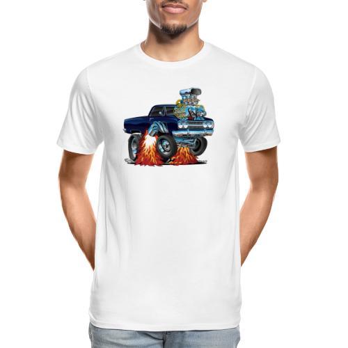 Classic Sixties Muscle Car Cartoon - Men's Premium Organic T-Shirt