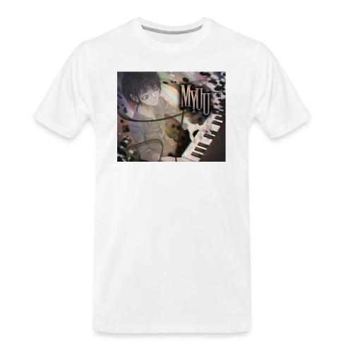 Dark Piano 1 - Men's Premium Organic T-Shirt