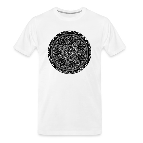 Circle No.2 - Men's Premium Organic T-Shirt