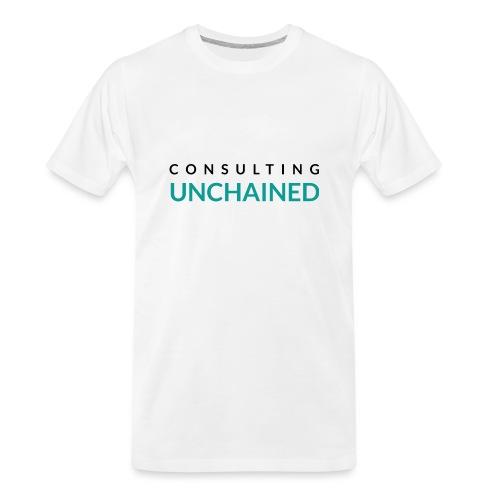 Consulting Unchained - Men's Premium Organic T-Shirt