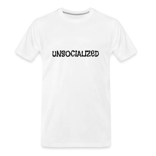 Unsocialized - Men's Premium Organic T-Shirt
