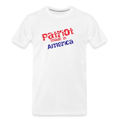 Patriot mug - Men's Premium Organic T-Shirt