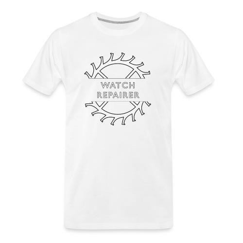 Watch Repairer Emblem - Men's Premium Organic T-Shirt