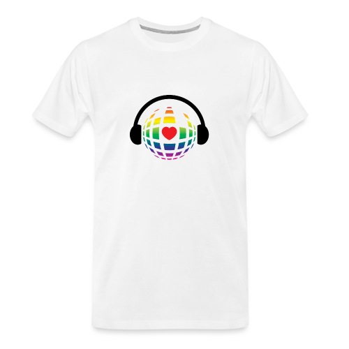 my music world - Men's Premium Organic T-Shirt