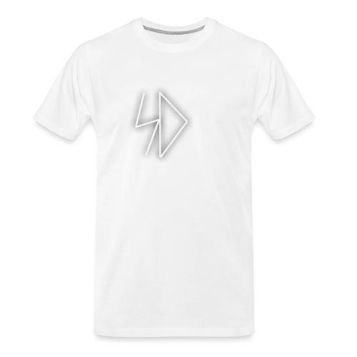 Sid logo white - Men's Premium Organic T-Shirt