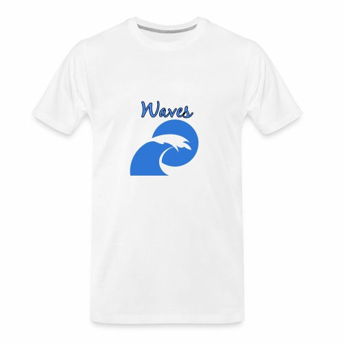 Waves - Men's Premium Organic T-Shirt