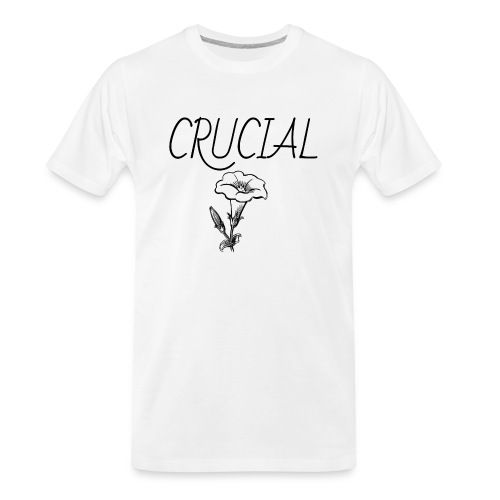 Crucial Abstract Design - Men's Premium Organic T-Shirt