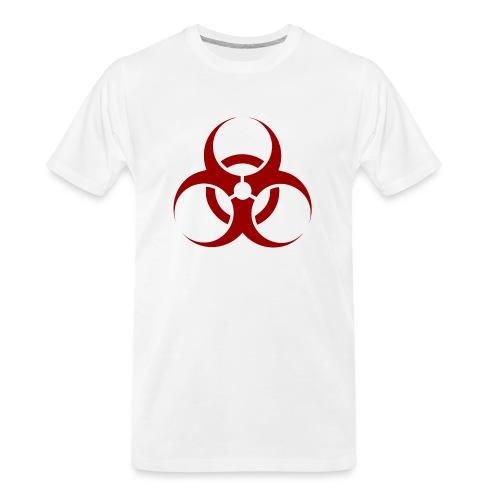 Biohazard Symbol - Men's Premium Organic T-Shirt