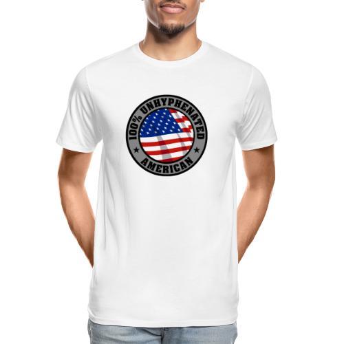 UNHYPHENATED AMERICAN - Men's Premium Organic T-Shirt