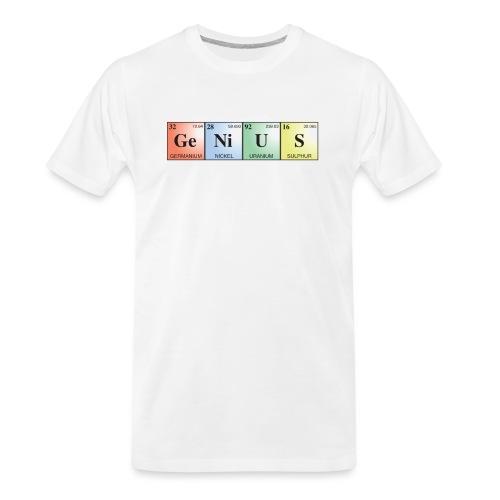 GeNiUS - Men's Premium Organic T-Shirt