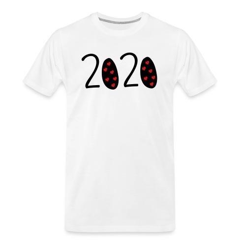 2020 - Men's Premium Organic T-Shirt