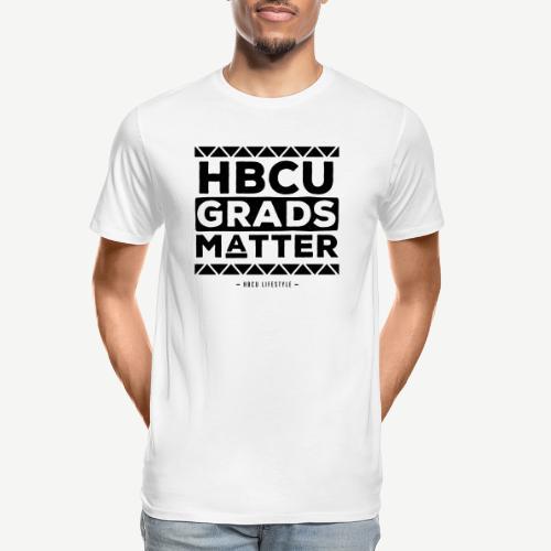 HBCU Grads Matter - Men's Premium Organic T-Shirt