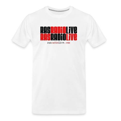 rasradiolive png - Men's Premium Organic T-Shirt