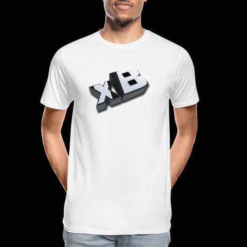 xB Logo - Men's Premium Organic T-Shirt