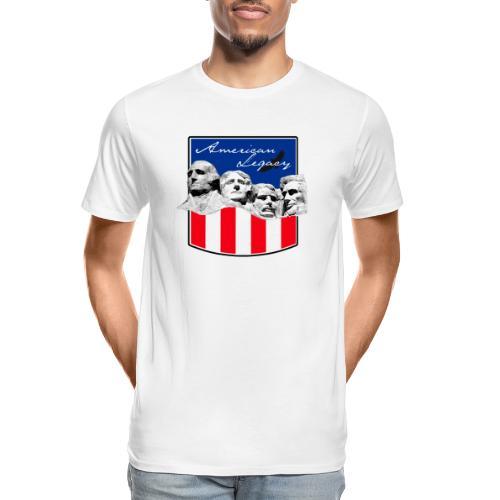 AMERICAN LEGACY - Men's Premium Organic T-Shirt