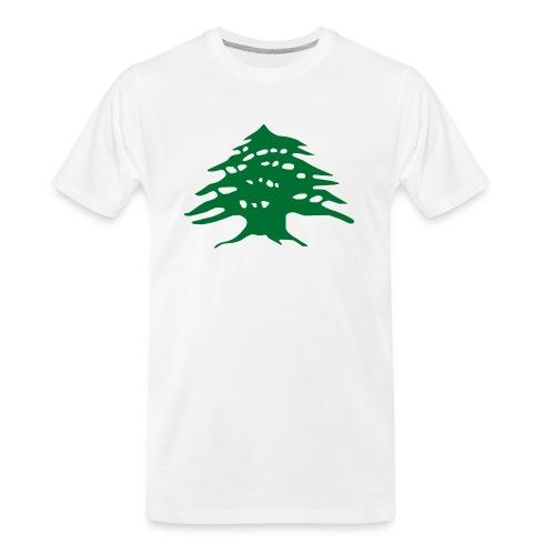 Lebanese Pride Shirt - Men's Premium Organic T-Shirt