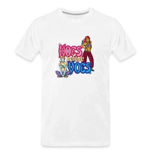 Hoes Before Voes - Men's Premium Organic T-Shirt
