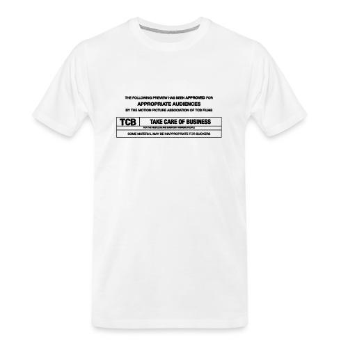 TCB Films Disclamer - Men's Premium Organic T-Shirt