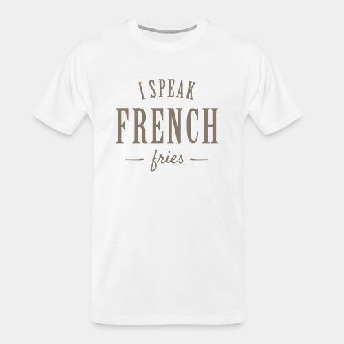 french fries - Men's Premium Organic T-Shirt