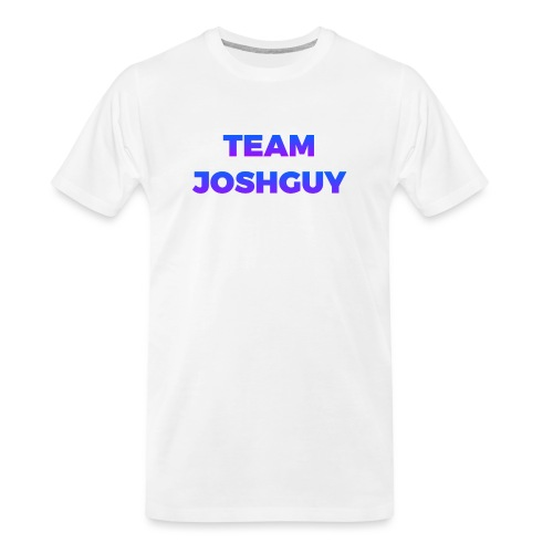 Team JoshGuy - Men's Premium Organic T-Shirt
