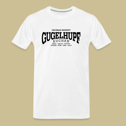 Gugelhupf (black) - Men's Premium Organic T-Shirt