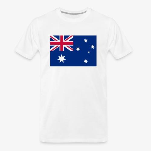 Bradys Auzzie prints - Men's Premium Organic T-Shirt