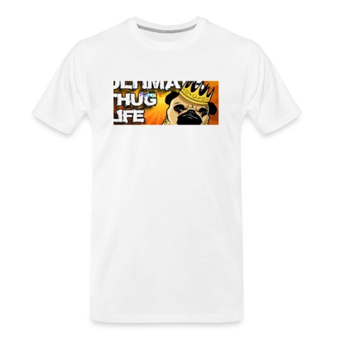 pug life - Men's Premium Organic T-Shirt