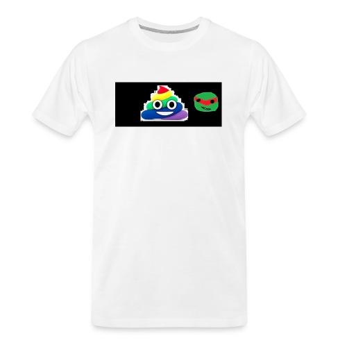 ninja poop - Men's Premium Organic T-Shirt