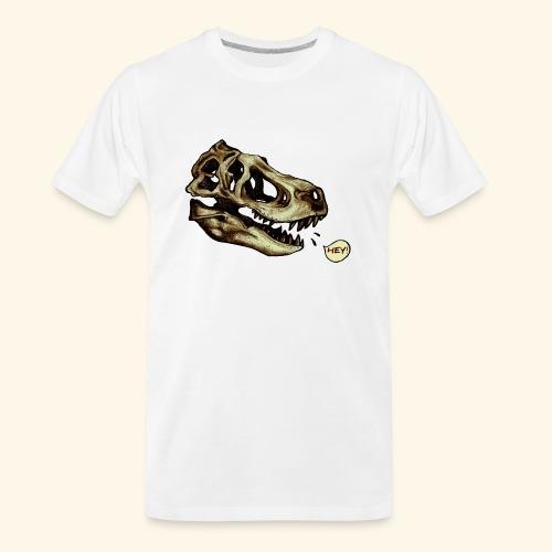 Dino Skull - Men's Premium Organic T-Shirt