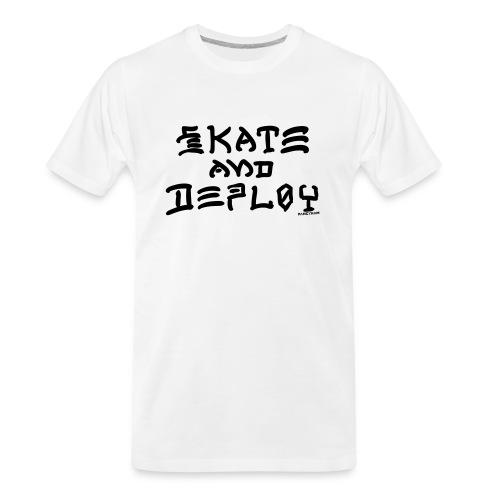 Skate and Deploy - Men's Premium Organic T-Shirt