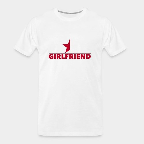 Half-Star Girlfriend - Men's Premium Organic T-Shirt