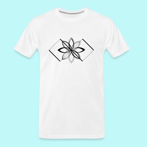 Colour Me DAIZEY Blue - Men's Premium Organic T-Shirt