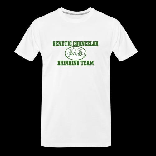 genetic counselor drinking team - Men's Premium Organic T-Shirt