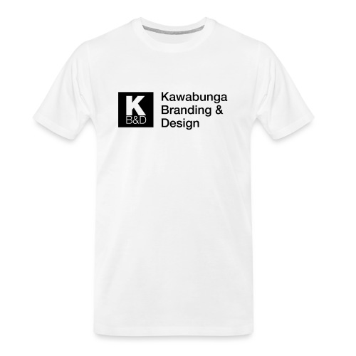 KBD signature - Men's Premium Organic T-Shirt