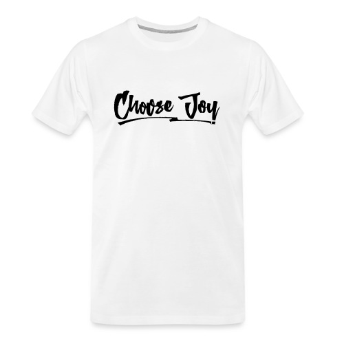 Choose Joy 2 - Men's Premium Organic T-Shirt