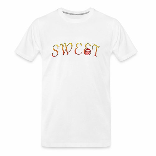 Sweet - Men's Premium Organic T-Shirt