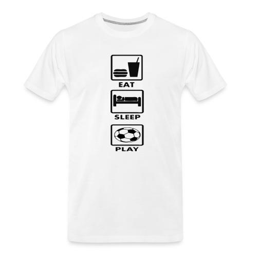 Football - Men's Premium Organic T-Shirt