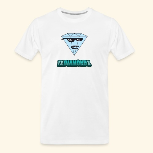 Txdiamondx Diamond Guy Logo - Men's Premium Organic T-Shirt