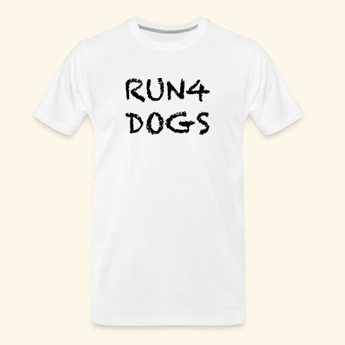 RUN4DOGS NAME - Men's Premium Organic T-Shirt