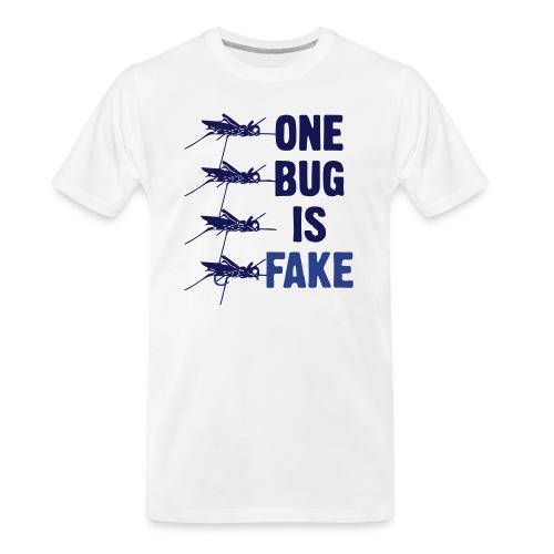 Fly Fishing Hopper - Men's Premium Organic T-Shirt