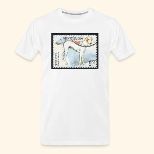 India - Mudhol Hound - Men's Premium Organic T-Shirt