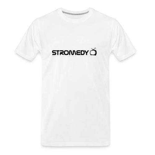 White Stromedy T-Shirt - Men's Premium Organic T-Shirt