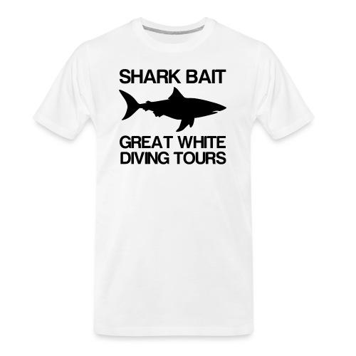 Great White Shark T-Shirt - Men's Premium Organic T-Shirt