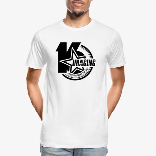 16IMAGING Badge Black - Men's Premium Organic T-Shirt