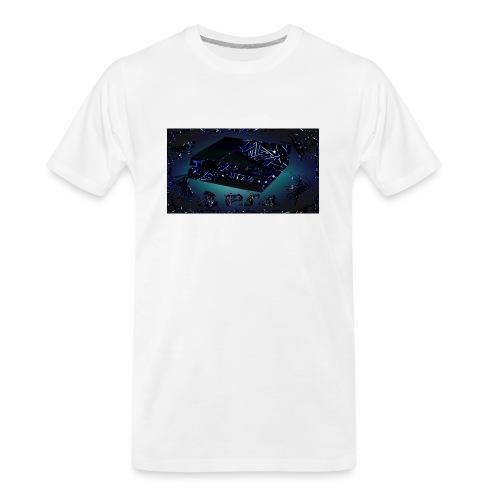 ps4 back grownd - Men's Premium Organic T-Shirt