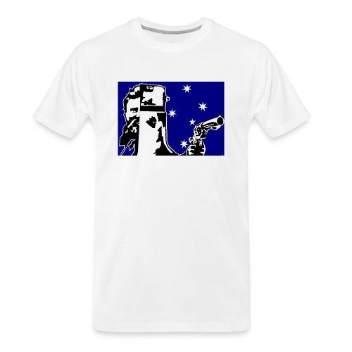 NED KELLY - Men's Premium Organic T-Shirt