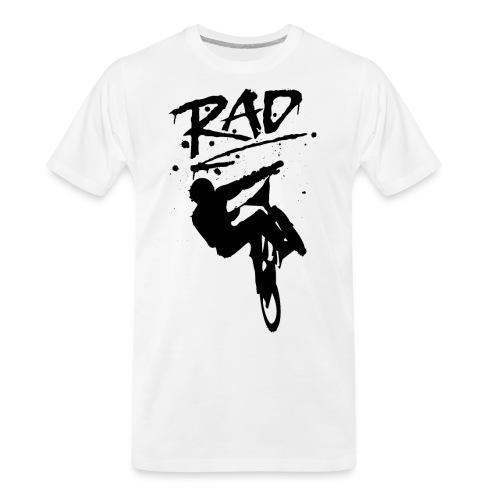 RAD BMX Bike Graffiti 80s Movie Radical Shirts - Men's Premium Organic T-Shirt